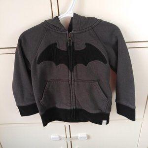 2/$20 Baby GAP toddler boy DC Batman hoodie 2T